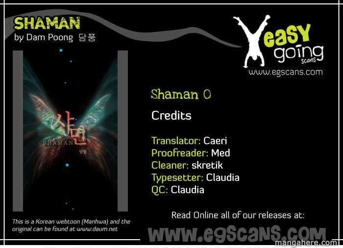 Shaman 0 Page 1