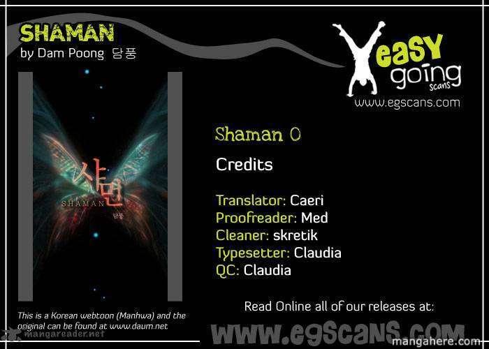 Shaman 1 Page 1