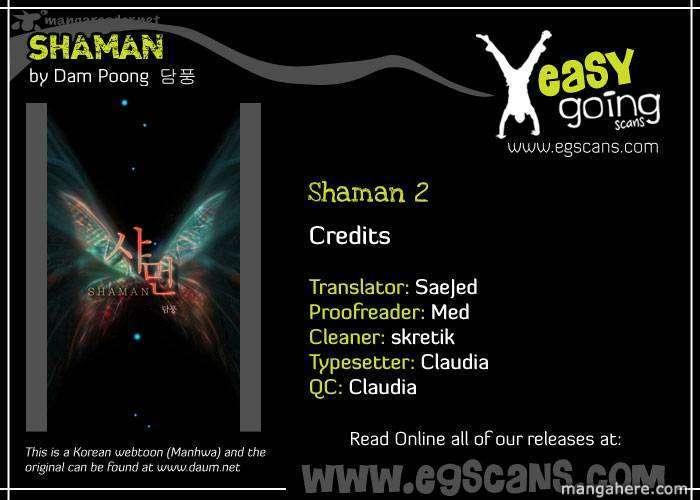 Shaman 2 Page 1
