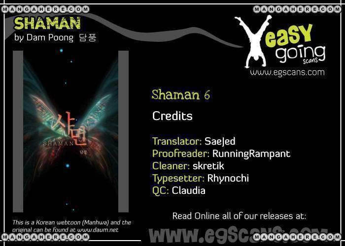 Shaman 6 Page 1