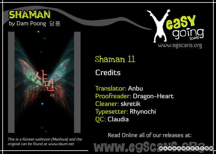 Shaman 11 Page 1