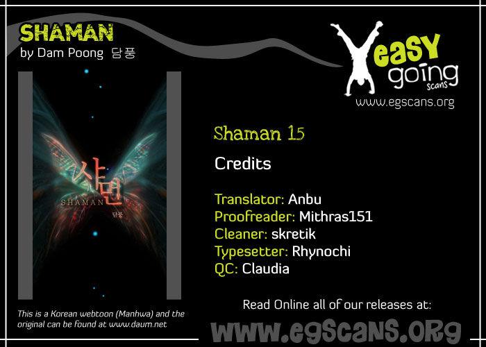 Shaman 15 Page 1