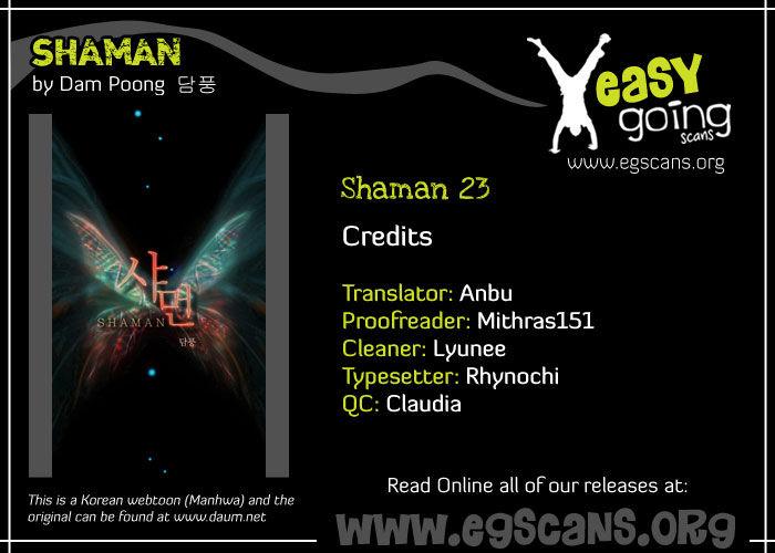 Shaman 23 Page 1