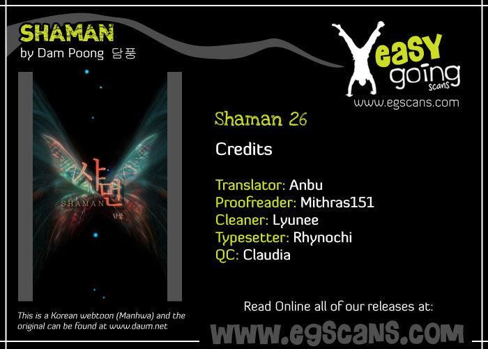 Shaman 26 Page 1