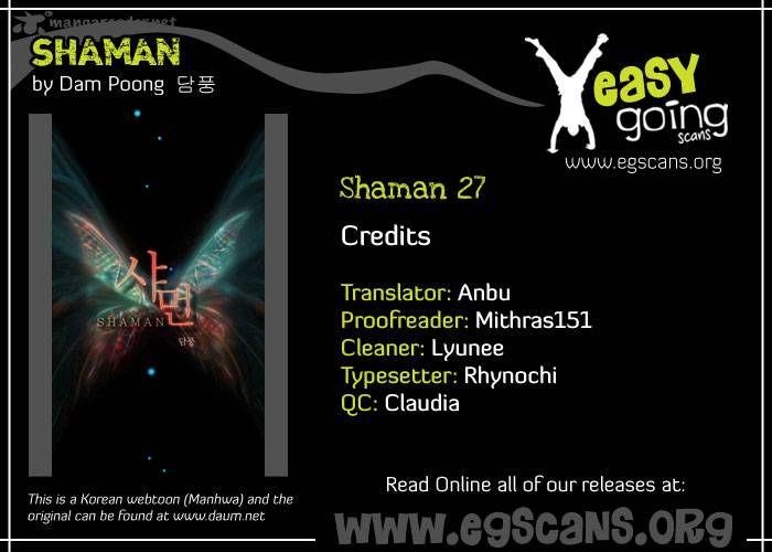 Shaman 27 Page 1