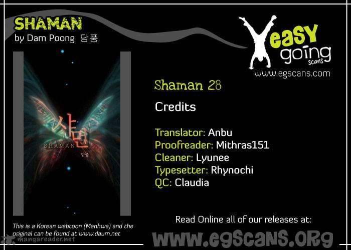 Shaman 28 Page 1