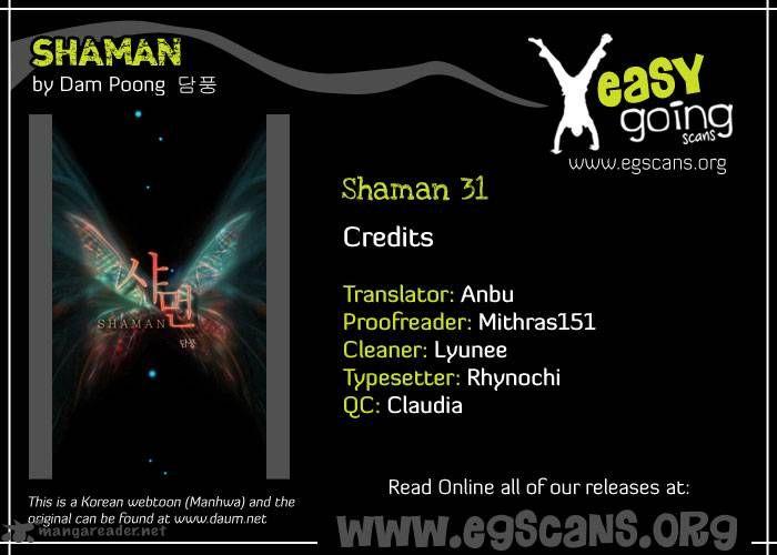 Shaman 31 Page 1