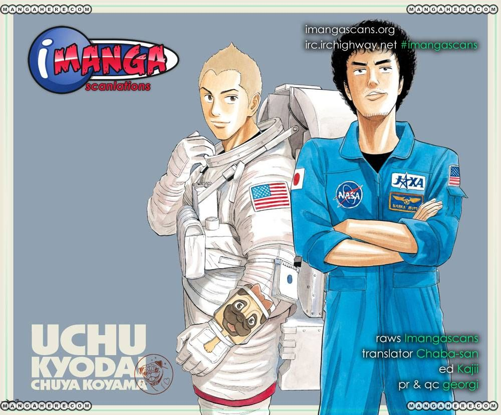 Uchuu Kyoudai 153 Page 1