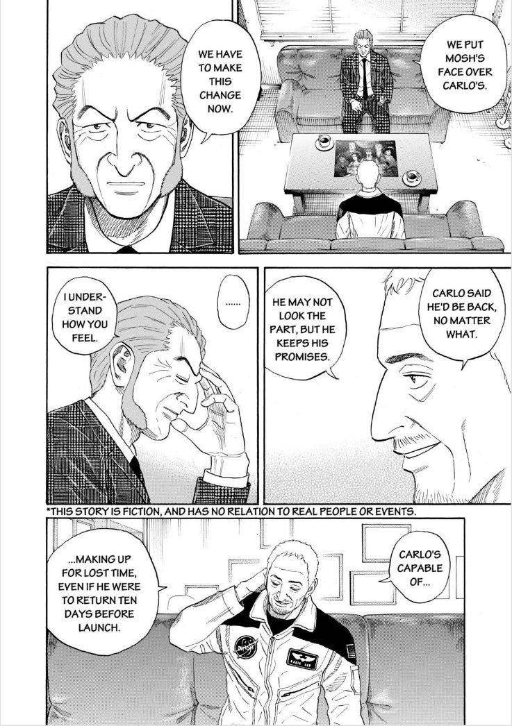 Uchuu Kyoudai 226 Page 2