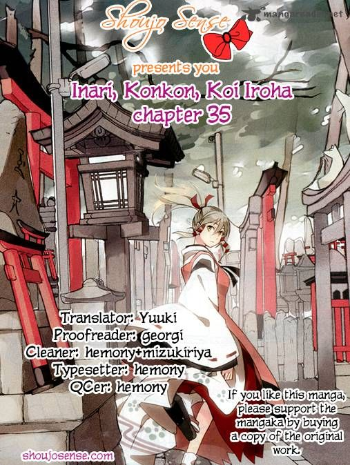 Inari, Konkon, Koi Iroha 35 Page 1