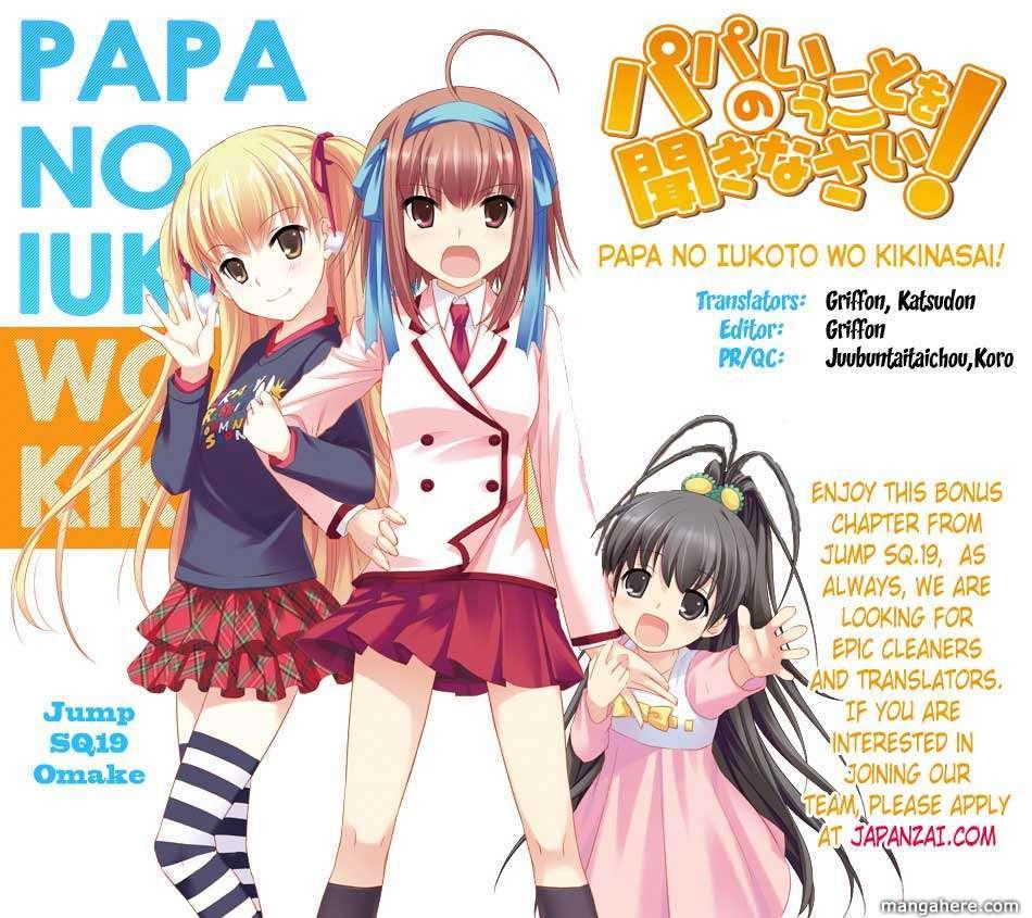 Papa no Iukoto o Kikinasai! 1.5 Page 1
