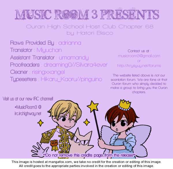 Ouran High School Host Club 68 Page 1