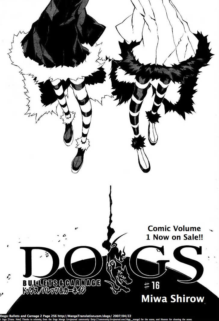 Dogs: Bullets & Carnage 16 Page 1