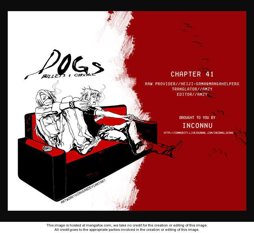 Dogs: Bullets & Carnage 41 Page 1