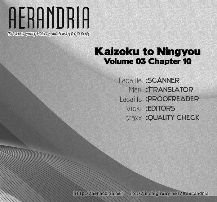Kaizoku To Ningyo 10 Page 1