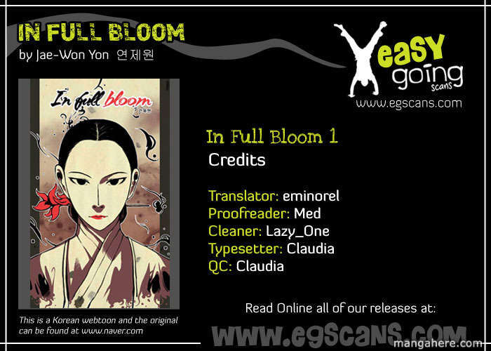 In Full Bloom Yon Jae Won 1.5 Page 1
