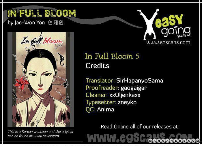 In Full Bloom Yon Jae Won 5 Page 1