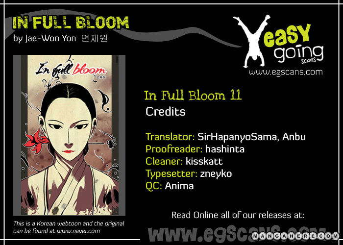 In Full Bloom Yon Jae Won 11 Page 1
