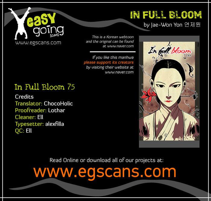 In Full Bloom Yon Jae Won 75 Page 1