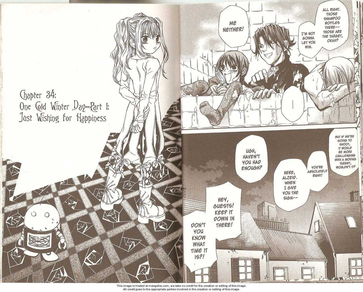 Hatenkou Yuugi 34 Page 1