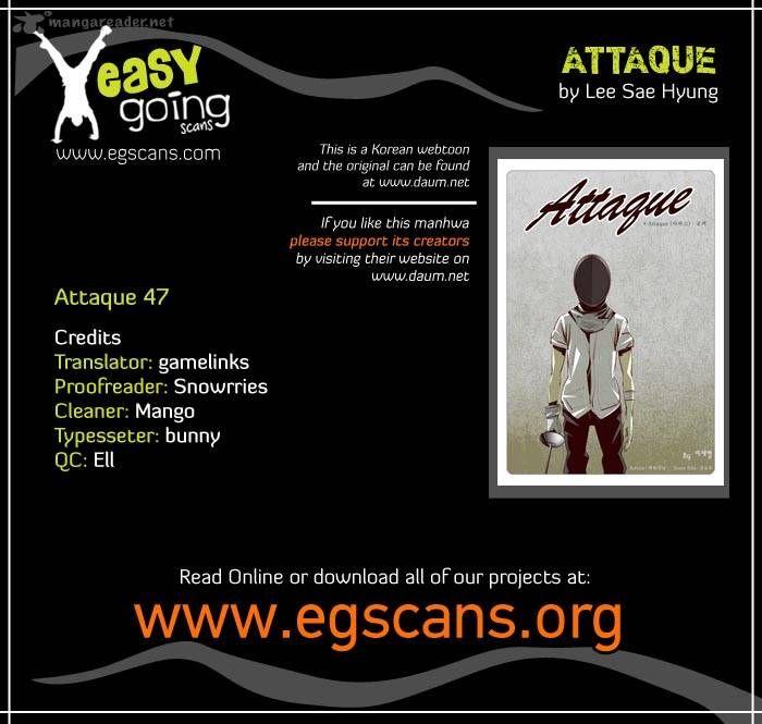 Attaque 47 Page 1