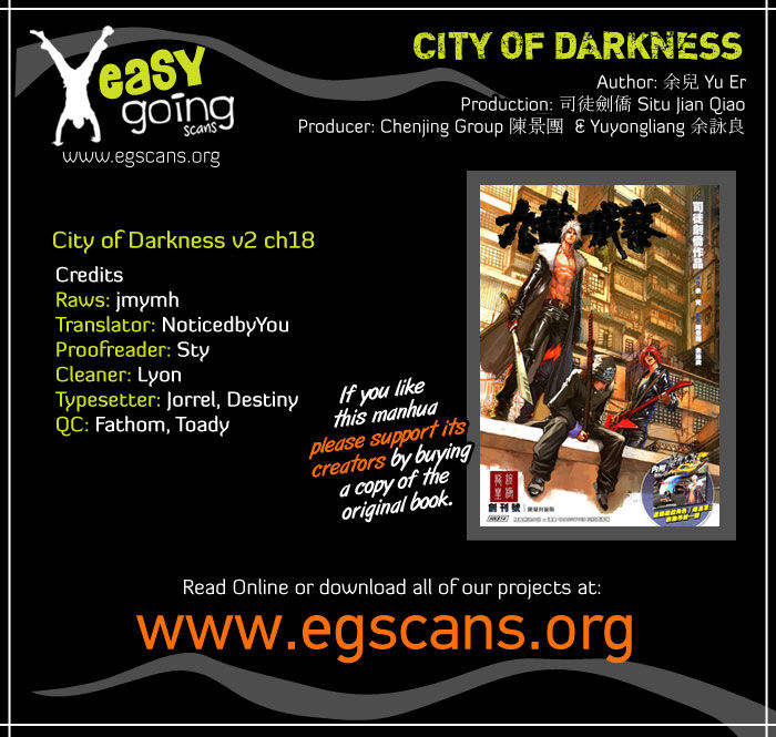 City Of Darkness 50 Page 1