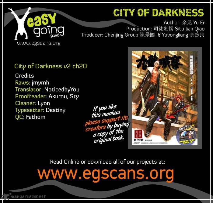 City Of Darkness 52 Page 1