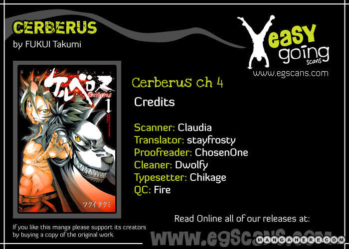 Cerberus 4 Page 1