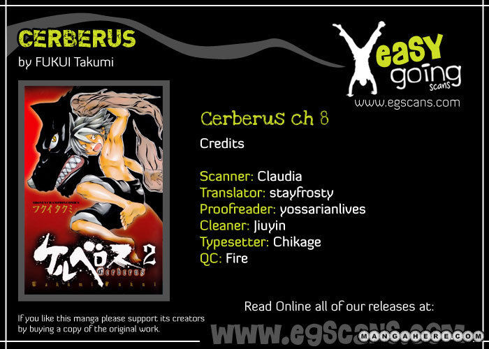 Cerberus 8 Page 1
