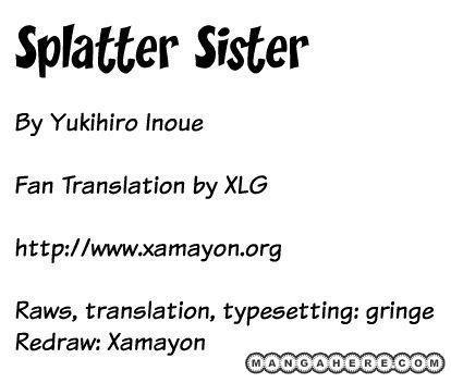 Splatter Sister 1 Page 1