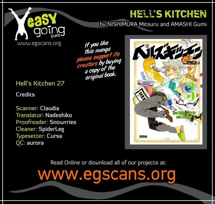 Hells Kitchen 27 Page 1