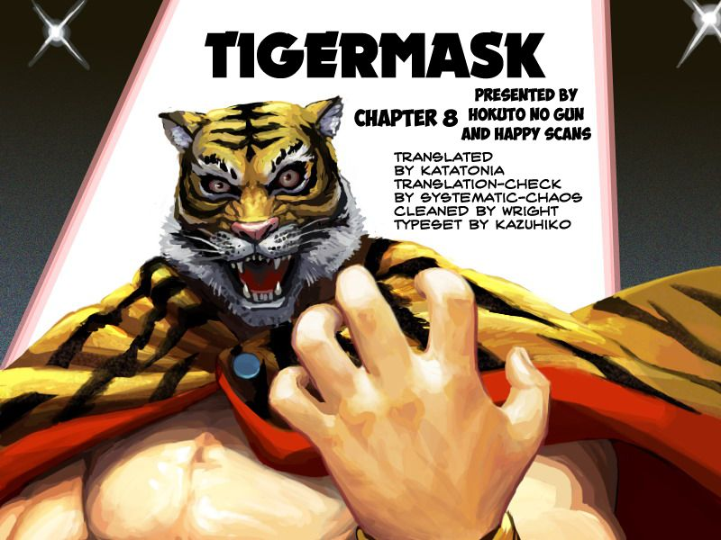 Tiger Mask 8 Page 1